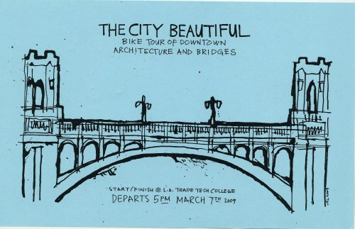 Flier for The City Beautiful ride