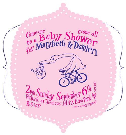 Invites For Baby Shower. Baby Shower Invitation